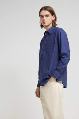 French Connenction Pique Pop Over Shirt