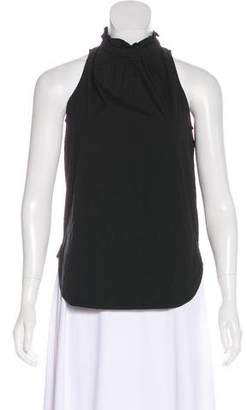 A.L.C. Sleeveless ruffle-Trimmed Top