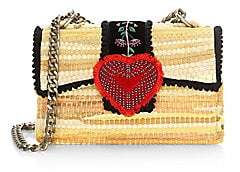Kooreloo Kooreloo Women's Divine Bijoux Fabric Heart Clutch