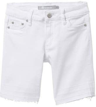 Tractr 5 Pocket Released Hem Bermuda Shorts (Big Girls)