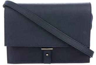 Pb 0110 Leather Fold-Over Flap Crossbody Bag