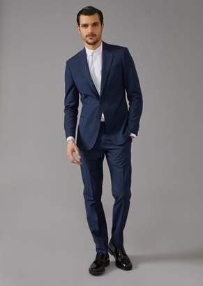 Giorgio Armani Mouline Twill Soho Suit