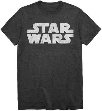 Star Wars Novelty T-Shirts Simple Logo Graphic Tee
