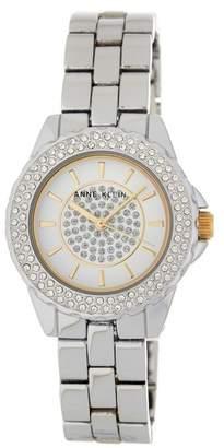 Anne Klein Women's Silver Bracelet Watch