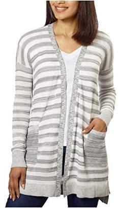 Calvin Klein Jeans Ladies' Long Cardigan (Grey, XL)