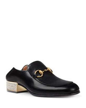 b948f2d61e7 Gucci Leather Loafers - ShopStyle