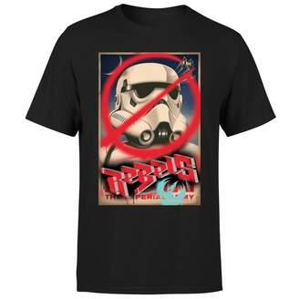 Star Wars Rebels Poster Men's T-Shirt