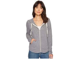 Splendid Rounded Hem Hoodie Women's Sweatshirt