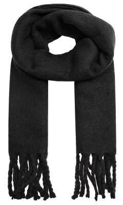 MANGO Fringed maxi scarf
