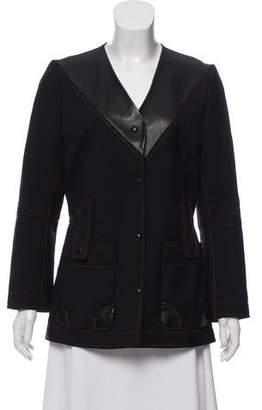 Louis Vuitton Embellished Leather Jacket