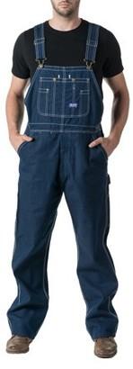 Dickies Men's 100% Cotton Rigid Denim Bib Overall