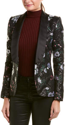 Prabal Gurung Kylie Silk-Lined Jacket