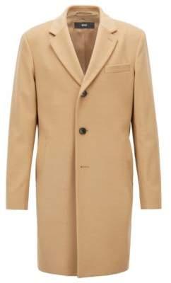 BOSS Hugo Formal coat in wool & cashmere notch lapels 42R Beige