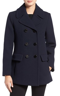 Women's Kate Spade New York Wool Blend Peacoat $398 thestylecure.com