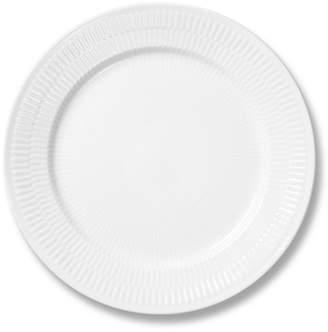 Royal Copenhagen White Fluted Plain Dinner Plate