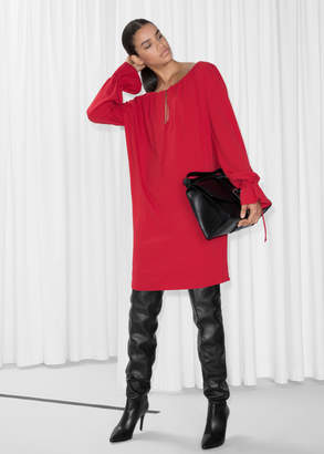 And other stories Tunic Mini Dress
