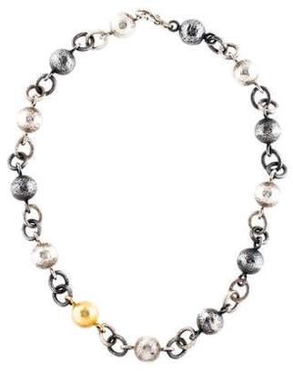 Gurhan Balloon Ball Chain Necklace