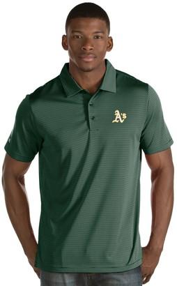Antigua Men's Oakland Athletics Quest Polo