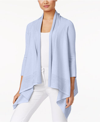 Cable & Gauge Open-Front Cardigan $60 thestylecure.com