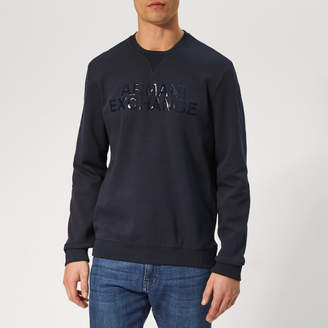 Armani Exchange Men's Logo Sweatshirt