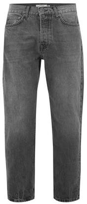 Topman Mens Washed Black Original Jeans