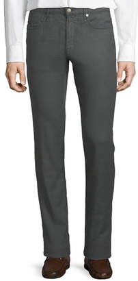 Incotex 5-Pocket Chino Flat-Front Trousers