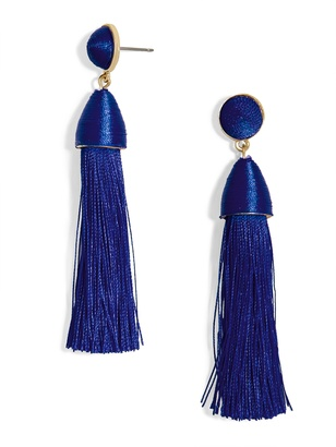 Rosabella Tassel Earrings $36 thestylecure.com