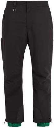 Prada Contrast-panel ski trousers