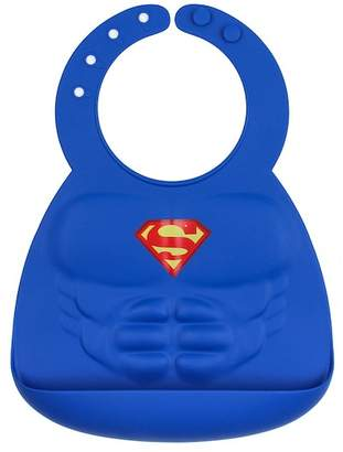 Bumkins Superman Silicone Bib (Baby Boys)