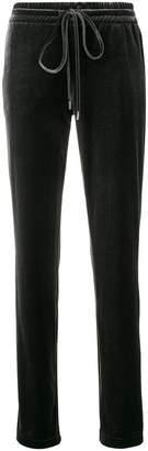 Cambio drawstring track trousers