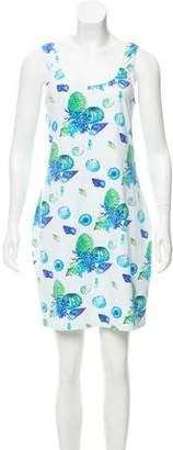 Manuel Canovas Shell Print Mini Dress