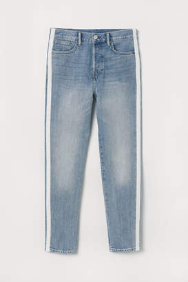 H&M Tapered Fit Jeans - Blue