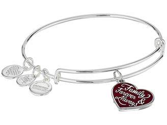 Alex and Ani Family Forever and Always Bangle