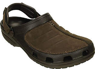 Nobrand NO BRAND Crocs Men's Leather Clogs - Yukon Mesa