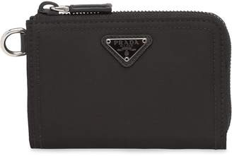 Prada performance fabric wallet