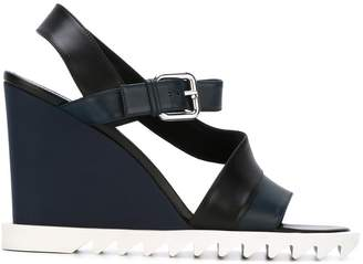 Jil Sander wedged sandals