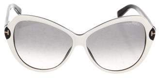 Tom Ford Oversize Valentina Sunglasses