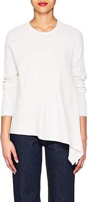 Derek Lam Women's Asymmetric Rib-Knit Sweater - White