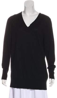 Rag & Bone V-Neck Long Sleeve Sweatshirt