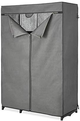 Whitmor COVER ONLY for Double Rod Closet with Heavy Duty Zipper - Gray