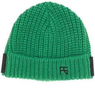 Raf Simons logo beanie hat