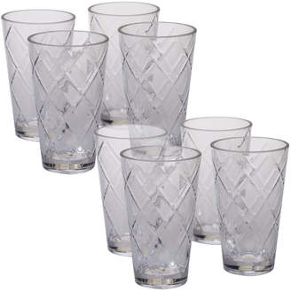 Certified International Diamond Acrylic 20 Oz. Water/Juice Glass