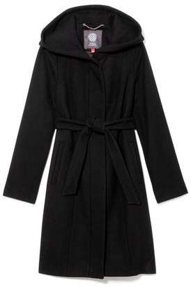Vince Camuto Wool-blend Hooded Coat