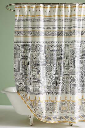 Anthropologie Nurata Shower Curtain