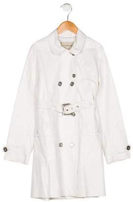 Burberry Girls' Belted Trench Coat