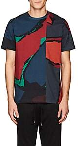 Paul Smith Men's Abstract-Print Cotton T-Shirt - Dk. Blue