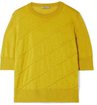 Bottega Veneta Wool Top - Chartreuse