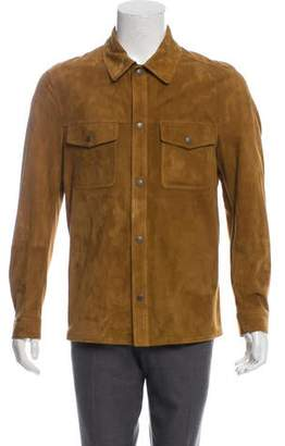 Tom Ford Suede Shirt Jacket