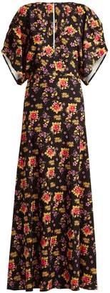 DODO BAR OR Beverly floral-print crepe dress