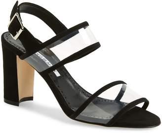 Manolo Blahnik Khan Two Strap Sandal